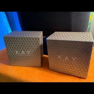 2 Empty Kay Jewlers Boxes - Neil Lane